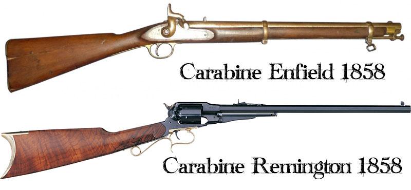 Deux carabines