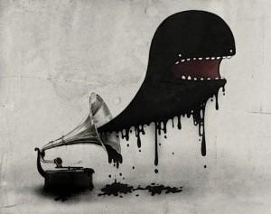 Le monstre du Gramophone